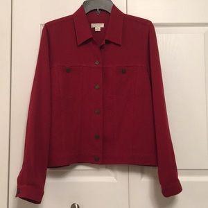 Christopher & Banks Red Jacket